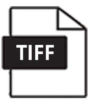TIFF - preferred RASTER format
