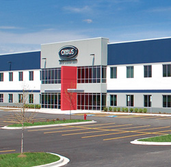 orbus corporate building in woodridge illinois