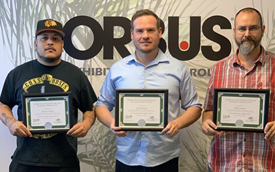 Orbus staff members earn Lean Six Sigma Green Belt Status