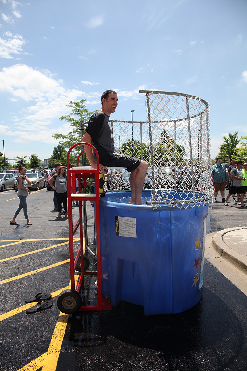 Orbus Employee Appreciation Manager Dunk Tank