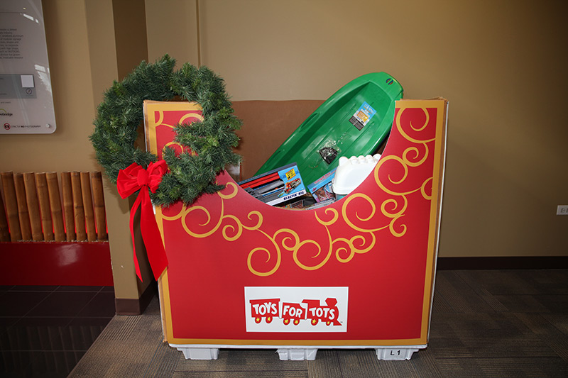 Orbus Toys for Tots Donations