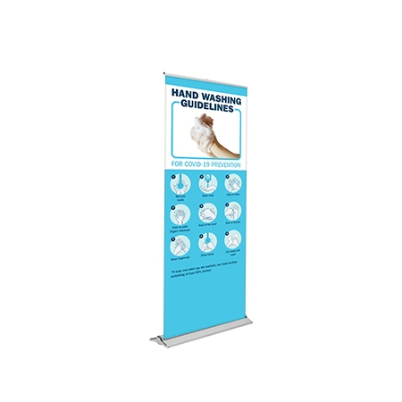 Blade Lite 800 Covid Banner Stand